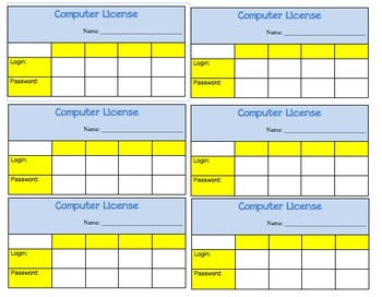 Computer License - Keep track of student logins for computer programs