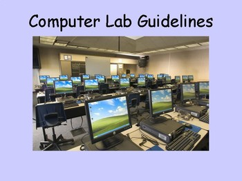 Computer Lab Rules and Expectations