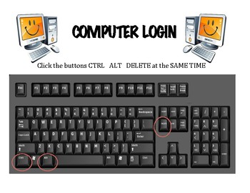 Computer Log In Instructions