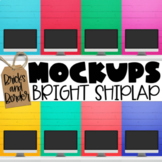 Computer Mockup Clipart for Teacher Sellers   Bright Shiplap