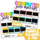 Computer Mockup for Digital Resources BUNDLE | June Editio