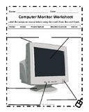 Computer Monitor Worksheet