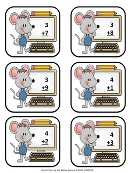 Computer Mouse Addition Mats