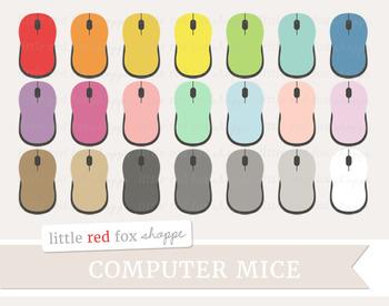 Computer Mouse Clipart; Laptop, Mice