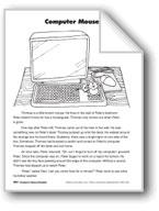 Computer Mouse/El ratón de la computadora
