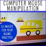 Computer Lab Activities: Mouse Practice & Manipulation w/ Spring or Easter Bunny