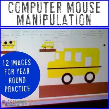 Computer Lab Activities: Mouse Practice & Manipulation with a Spring Option!