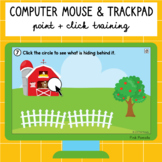 Computer Mouse and Trackpad Point and Click Training