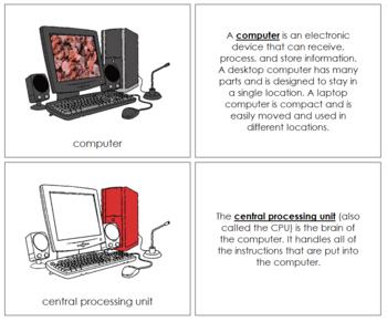 Computer Nomenclature Book - Red
