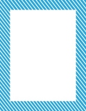 Computer Paper Diagonal Pinstripe 10 Assorted Bright Colors