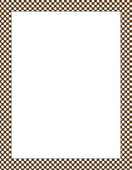 Computer Paper Polka Dots 10 Pack Mushroom/Woodland Coordinates
