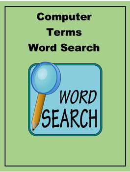 Computer Part Word Search