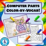Computer Parts Color-by-Vocab