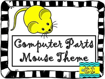Computer Parts Posters (Mouse Theme)