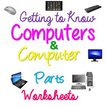 Computer Parts Worksheets