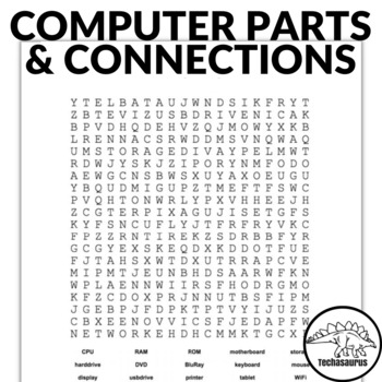 Computer Parts Word Search