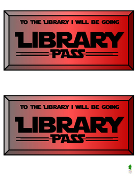 Computer Pass, Library Pass, Bathroom Pass