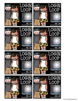 Computer Passwords: Login Loop