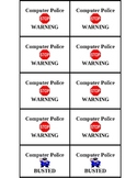 Computer Police Tickets