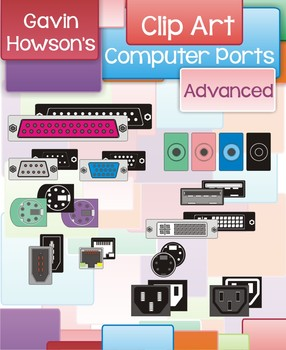 Computer Port Clip Art - Advanced