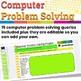 Computer Problem Solving Unit in Google Slides