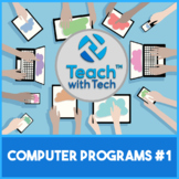 Computer Lessons Bundle #1 Microsoft Office Prezi Glogster
