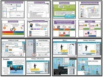Computer Lessons Bundle #2 Popplet Storybird Comic Life Powtoon