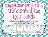 *EDITABLE* Computer Program Student Username and Password