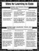 Computer Programming Worksheets to Accompany Online Tutorials
