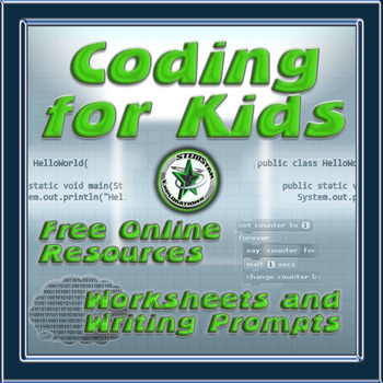 Computer Programming Worksheets to Accompany Online Tutorials | TpT
