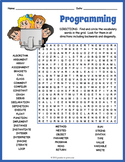 Computer Programming Vocabulary Word Search Worksheet