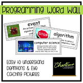 Computer Programming Word Wall
