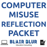 Computer Reflection Packet (2 versions: 1st grade and 2-4th grade)