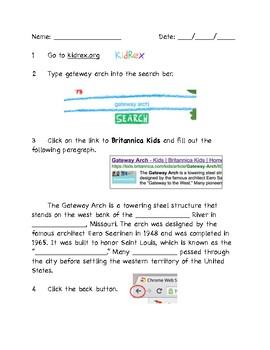 Computer Research Skills - Gateway Arch