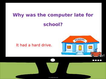 Computer Riddles Animated PowerPoint