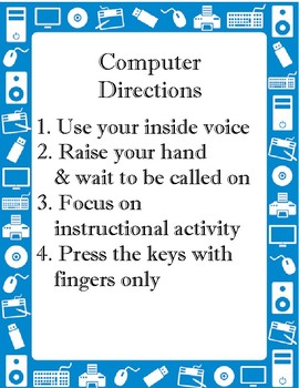 Computer Rules and Directions
