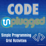 Computer Science Code 'Unplugged' Simple Programming Grid Activities