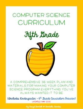 Computer Science Curriculum - Fifth Grade