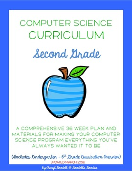 Computer Science Curriculum - Second Grade