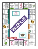 Computer Science Curriculum Walopoly Board (Monopoly Style