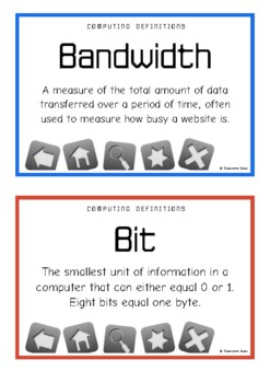 Computer Science Definitions