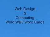 Computer Science Word Wall / Word Cards