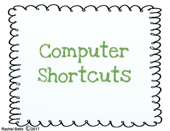 Computer Shortcuts