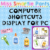 Computer Shortcuts Display for PC Users