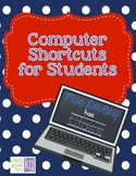 Computer Shortcuts for Students Freebie!