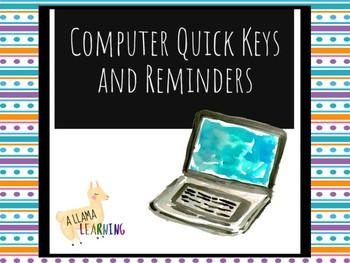 Computer Shortkeys