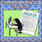 Computer Skills Objectives List