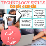 Computer Skills Task Cards - MS Office Skills