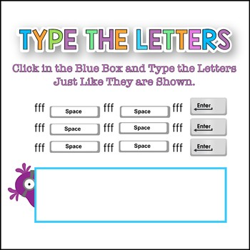 Beginning Computer Skills: Home Row and Letter Recognition Gr K-2 PowerPoint