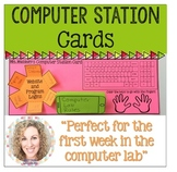 Computer Station Cards